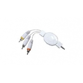 CORDON RETRACTABLE POUR IPOD VIDEO