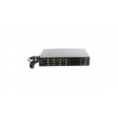 COMMUTATEUR AUDIO-VIDEO 6 PORTS TELECOMMANDE