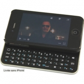 CLAVIER COQUE BLUETOOTH POUR IPHONE 4