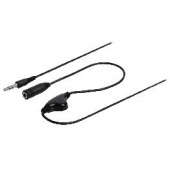 CABLE D'EXTENSION AUDIO CONTROLE VOLUME 3,5M-3.5F 1M