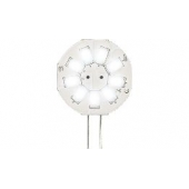 LAMPE 9 LEDS G4 BLANC FROID 1.5W 6500K