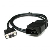 CORDON OBD2 16PIN A DB9 PORT SERIE 1M